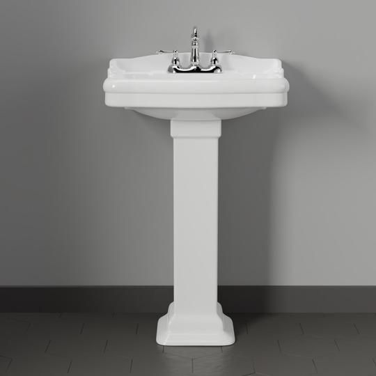 Chipley 200 Vitreous China Pedestal Sink Pedestal Sink Sink
