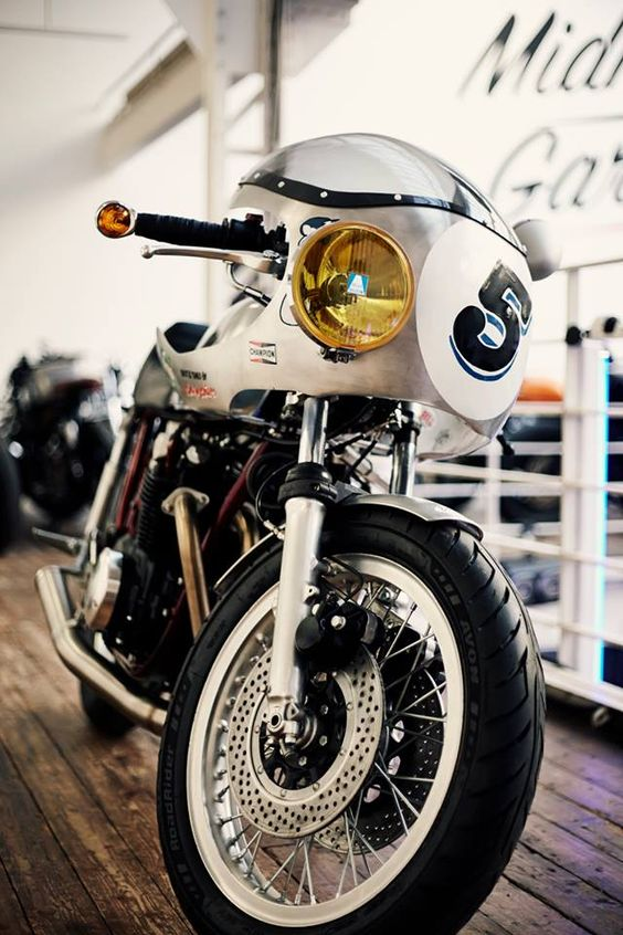 Honda Cafe Racer BigBore Kit #motorcycles #caferacer #motos | caferacerpasion.com: