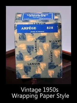Lanvin Perfumes: Standard Lanvin Perfume Bottles & Stock List