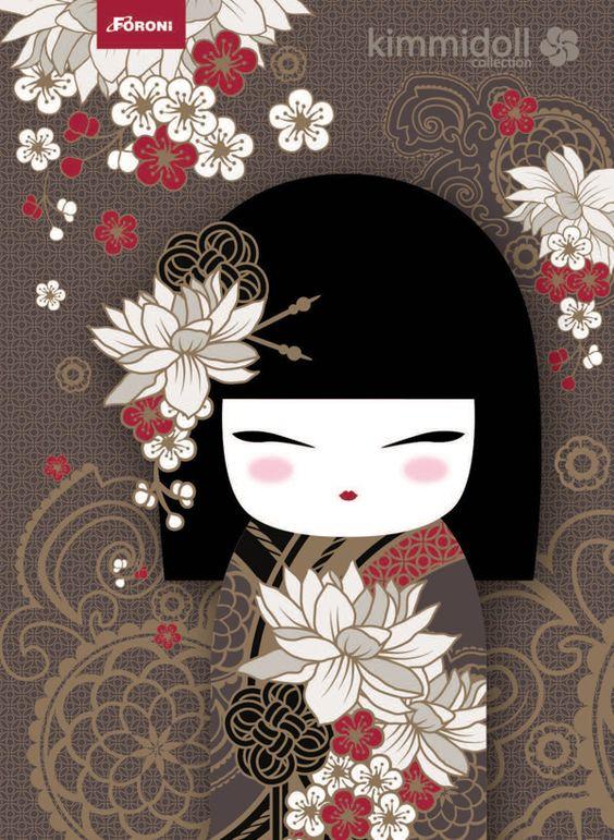 Kimmidoll illustration tatsumi 39 powerful 39 my spirit for Decoration chambre kimmidoll