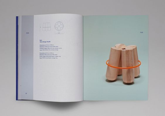 Catalogue for furniture and lighting company La Chance designed by Artworklove. #Branding #Print #Design