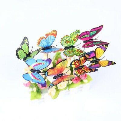 Miniature Fairy Garden Ornament Decor Plastic Butterfly Accessories Dollhouse
