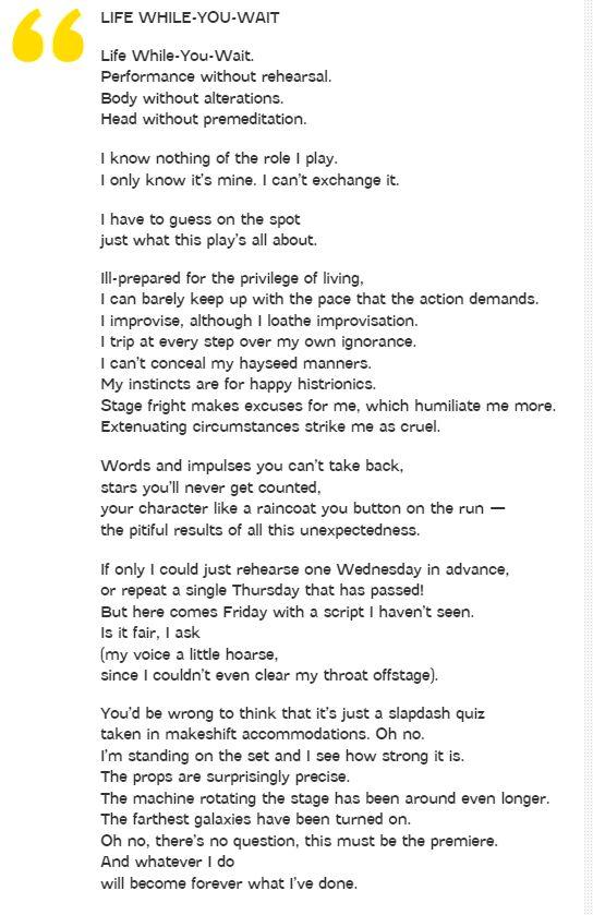 true love wislawa szymborska essay Professionally written essays wislawa szymborska's war poem 'the end and the beginning' wislawa szymborska's war poem 'the wislawa szymborska's poem 'true.