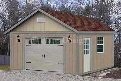 16 Ft X 24 Ft Garden Storage Shed Structure Car Garage Plans Design 51624 Home Garden Yard Garden Outdoor Livi In 2019 Garden Storage Shed Building A Shed Shed Storage