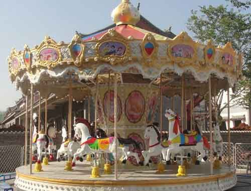 Vintage Carousel Ride For Sale