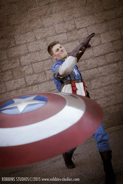 Captain America, Cosplayed by Chris Murray, photographed by Robbins Studios