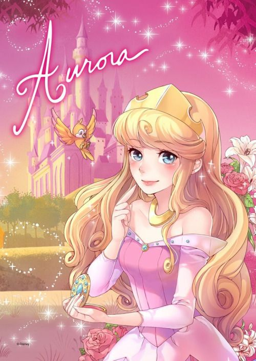 Disney Princess Aurora #disney #art http://www.keypcreative.com/