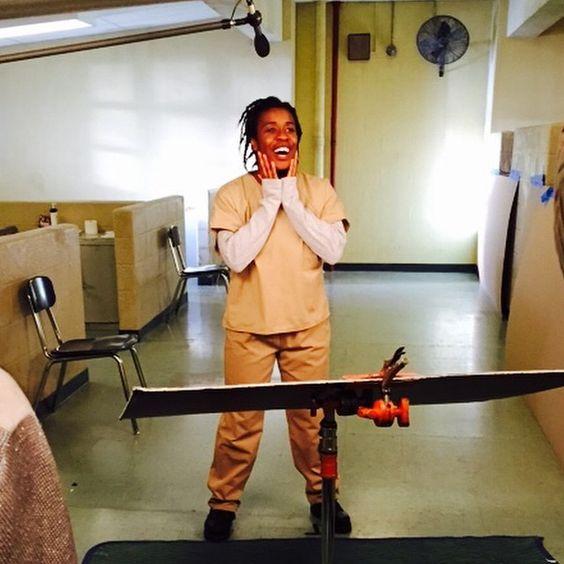 "Orange is the New Black:  Suzanne ""Crazy Eyes"" Warren (played by Uzo Aduba)"