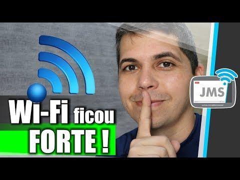 Um Roteador Com Sinal Wifi Muito Forte Wireless Youtube