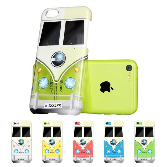 Amazon.com: iPhone 5C Case, ESR® Animal Kingdom Series Hard Clear Back Cover Snap on Case for iPhone 5C (Cow): Cell Phones & Accessories