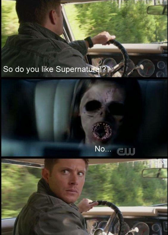 Dean's face