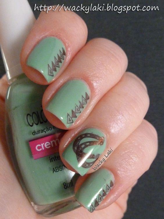 cowgirl  #nail #nails #nailart Omg I want my nails done like that!!!
