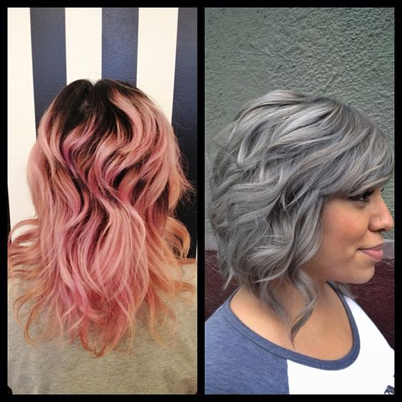 Before and after color and cut from @alexanderscottpro at BANG pike!