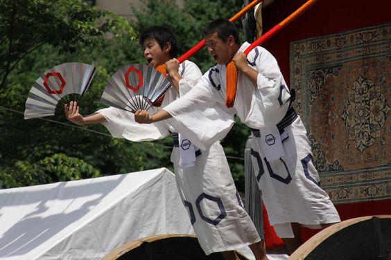 北観音山の囃子方。気合入っています。 祇園祭 京都 kyoto gion festival