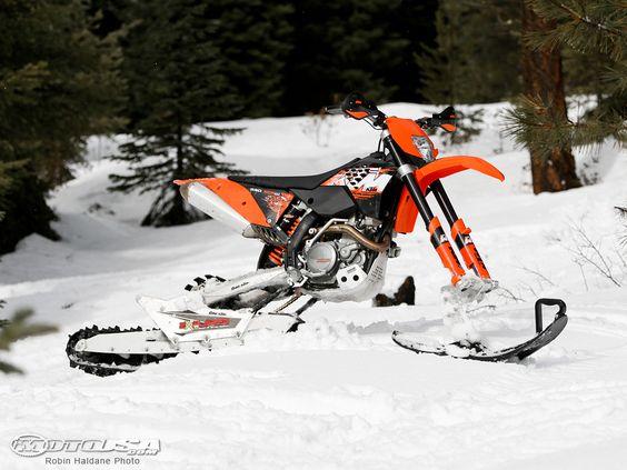 Ktm Turbo Snow Bike