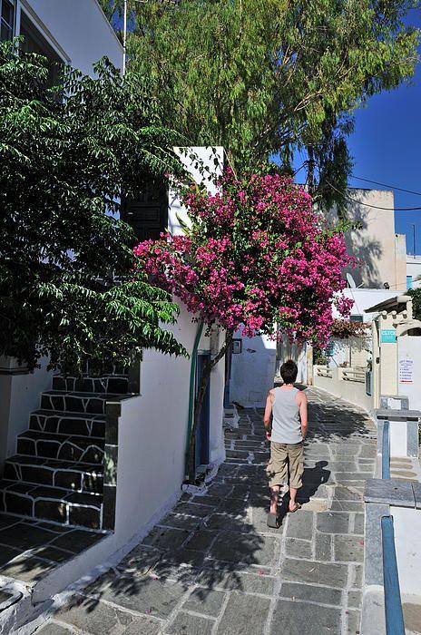 Ios town in Ios Island_ Greece