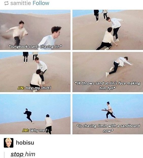 This child / he attacks even his own umma   BTS - Jungkook, Jin, Jimin