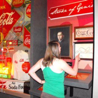 Coca Cola Museum in Atlanta, Georgia USA