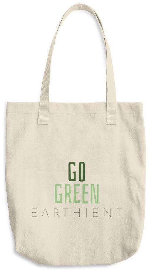 Go Green Cotton Tote Bag