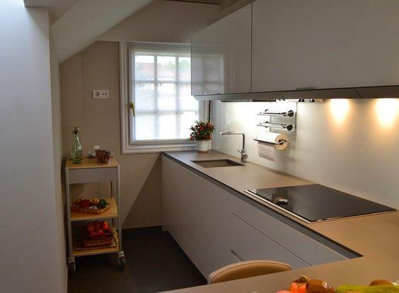 La cocina semiabierta: una ventajosa elección - Cocinas con estilo