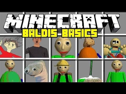 Minecraft Baldi S Basics In Education Mod Baldi Playtime 1st Prize