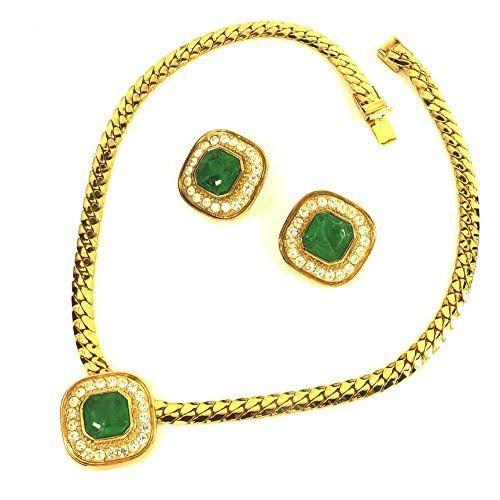 streitstones Schmuckset Kette und Ohrclips vergoldet mit Swarovski und Grünachatimitat 50 % Rabatt streitstones http://www.amazon.de/dp/B00T3IYDF8/ref=cm_sw_r_pi_dp_DhY6ub179W0PE, streitstones, Halskette, Halsketten, Kette, Ketten, neclace, bling, silver, gold, silber, Schmuck, jewelry, swarovski, fashion, accessoires, glas, glass, beads, rhinestones