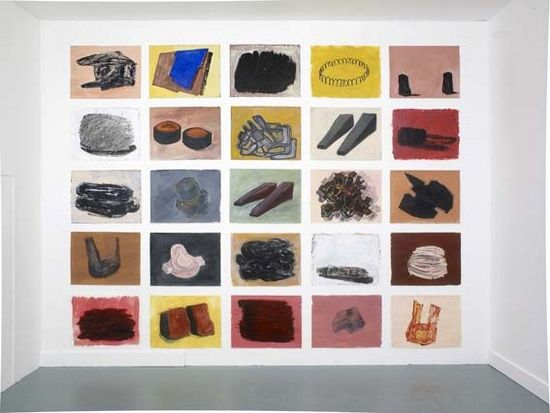 Phyllida Barlow, 25 drawings exhibited alongside 'BLUFF', Studio Voltaire…