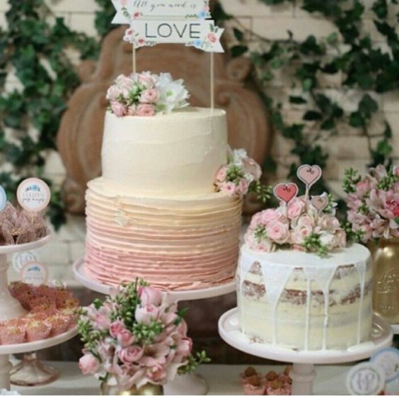 Vintage cake,