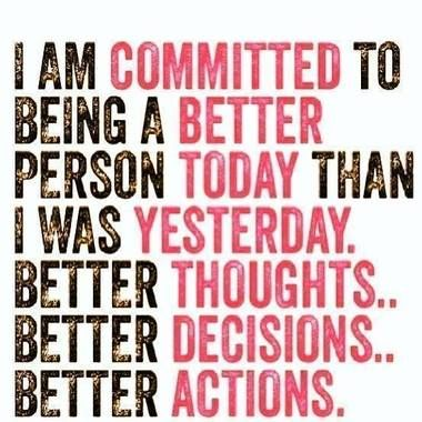 Image result for be better today than yesterday