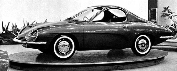 1964 RENAULT R8 COUPE - by Carrozzeria Ghia of Turin