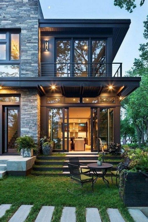 27 Stunning Modern Dream House Exterior Design Ideas Arkitektur Arkitektur Hus Husdesign