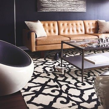 Camel Leather Sofa Design Pictures Remodel Decor And Ideas