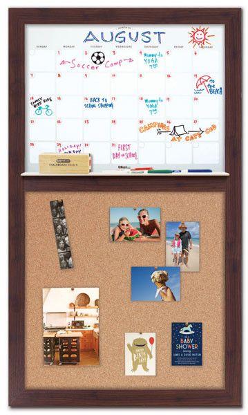 "Dry Erase Calendar 28"" x 48"""