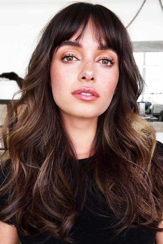 40 Wispy Bangs Ideas To Try For A Fresh Take On Your Style Long
