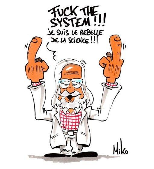 Professeur Raoult Vous Dit De Marseille Voir Photo Blague Drole Humour Doigt D Honneur