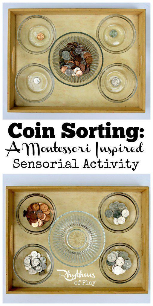 Sorting activities are wonderful for seniors living with dementia or Alzheimer's.
