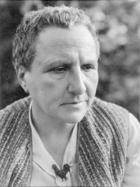 Gertrude Stein, photographed by George Platt Lynes in 1931.