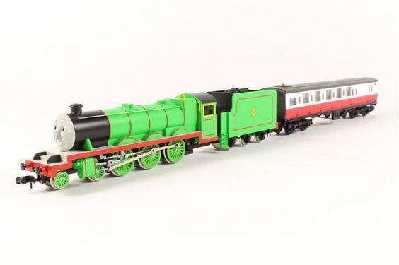 Thomas & Friends N Scale Set - Henry- 2 Car Set - Tomix #93805