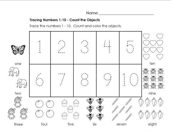 Activities, Numbers and Number worksheets on Pinterest