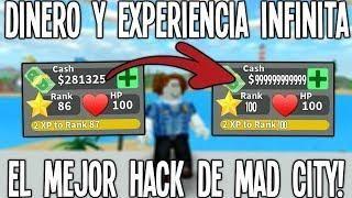 Roblox H4ck Mad City Dinero Y Exp Infinitos El Mejor Hack Sube De Nivel Rapido Roblox City Hacks Time Hacks