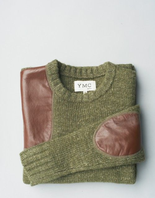 Super cute love the leather patches on the elbows!