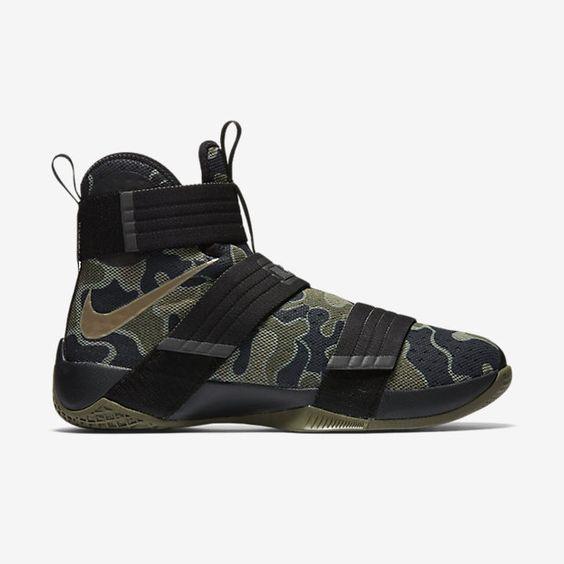 nike zoom lebron soldier 10 sfg men's basketball shoe