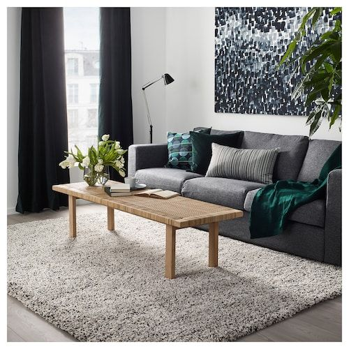 Vindum Tapis Poils Hauts Blanc 200x270 Cm Ikea Living Room Rugs Ikea Ikea Living Room Rugs In Living Room