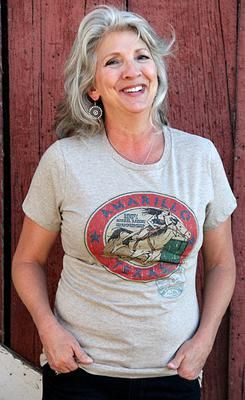 Vintage Amarillo Barrel Racing Shirt Original Cowgirl Clothing Co.