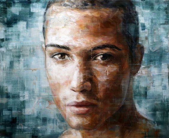 Harding Meyer / (13-2014) / oil on canvas, 90x110 cm