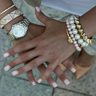 Wearing jewelry makes the day complete. soohautebeauty.com