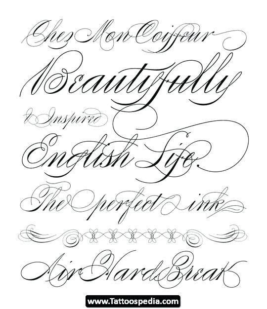 Tattoo Font Generator Tattoo Font Alphabet Tattoo Letter Fonts