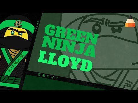 Jak Narysować Lego Lloyda Ninja Lloyd Lego Ninjago Movie