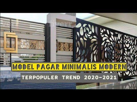 Best 30 Desain Pagar Rumah Minimalis Modern Trend 2020 2021 Youtube Modern Minimalis Keamanan Rumah