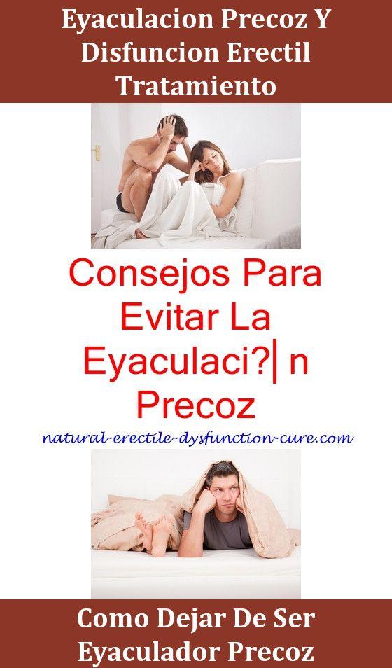 remedio natural contra la eyaculacion precoz